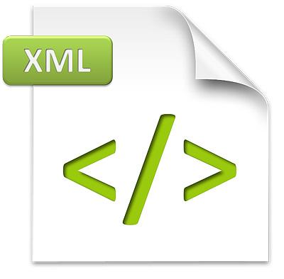 Qué son los archivos XML en Excel: Icono archivos xml