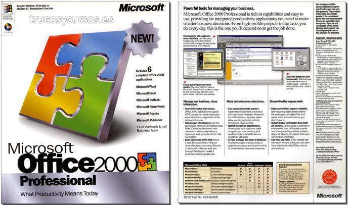 Microsoft Office 2000 (Profesional)