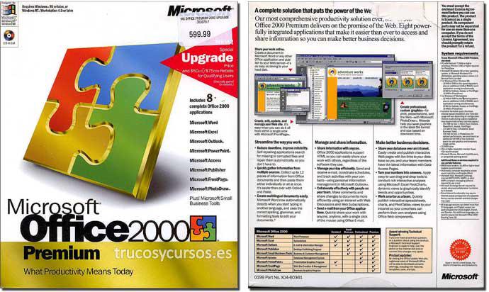 Microsoft Office 2000 (Premium)