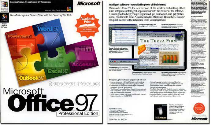 Microsoft Office 97 (Profesional)