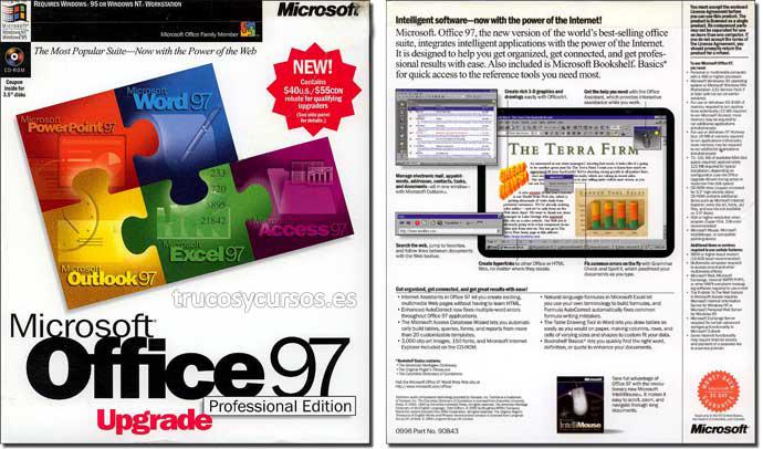 Microsoft Office 97 actualización (Profesional)