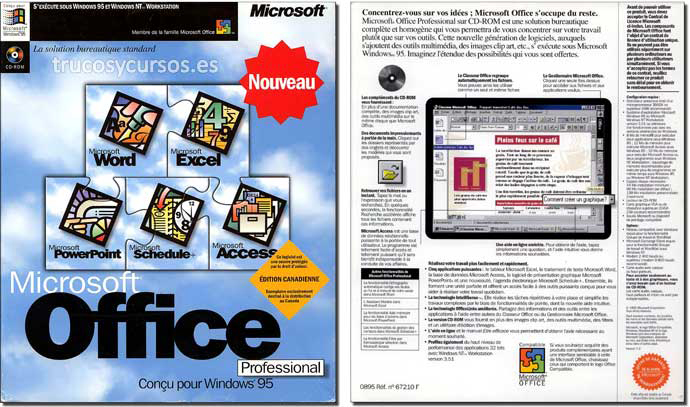 Microsoft Office 95 (Profesional)