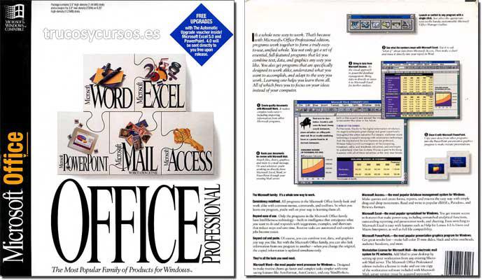 Microsoft Office 4 (Profesional)