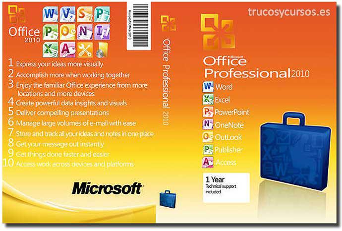 Microsoft Office 2010 (Profesional) para Windows