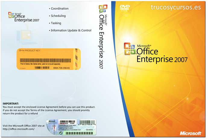 Microsoft Office 2007 (Profesional)