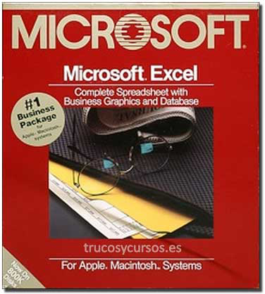 Microsoft Excel 1.0 para Apple Macintosh