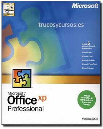Microsoft Office 2002 (profesional)