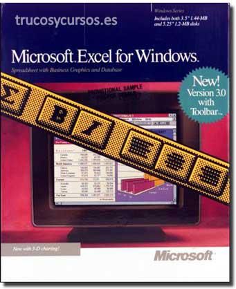 Excel 3.0: Microsoft Excel v.3.0