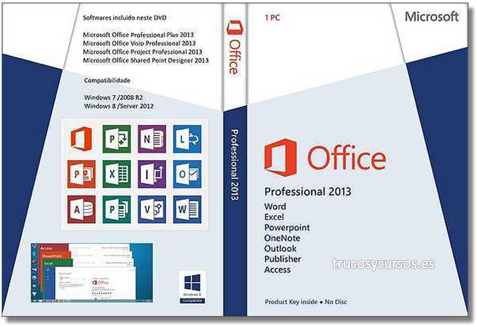Microsoft Office 2013 (Profesional)