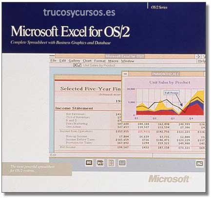 Microsoft Excel v.2.2 OS/C