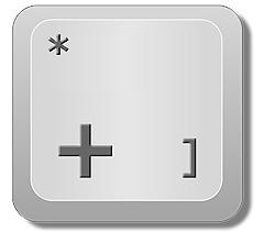 """Insertar una fórmula o función en Excel: Tecla """"+"""" para insertar fórmula y función en Excel."""