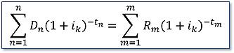 Fórmula del Banco de España para el tipo de interés.