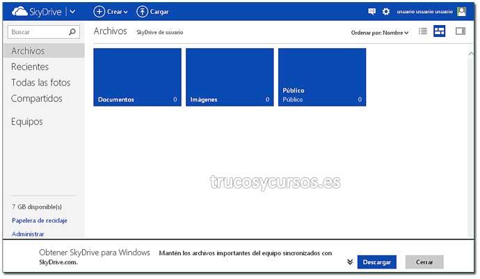Encuesta con Excel Web App: Paso 1. Crear encuesta en Excel.
