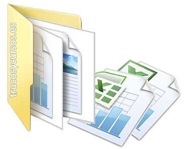Número de caracteres para nombre de archivo Excel: Archivos de Excel en el interior de una carpeta