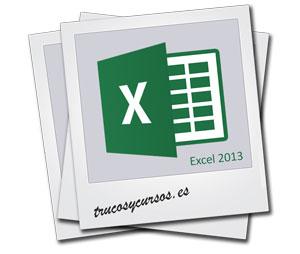Formatos de imagen soportados por Excel: Excel 2013