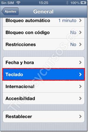 Ventana iPhone: General