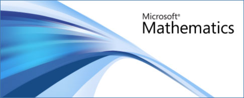 Pantalla de bienvenida Microsoft Mathematics
