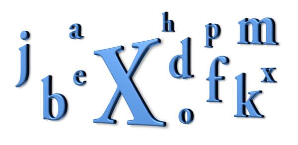 Glosario Excel: Letra X