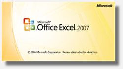 Cuadro de diálogo: Acerca de Microsoft Excel 2007 versión 12.0.