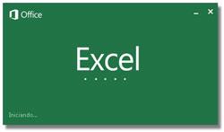 Cuadro de diálogo: Acerca de Microsoft Excel 2013 versión 15.0.