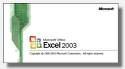 Cuadro de diálogo: Acerca de Microsoft Excel 2003 versión 11.0.