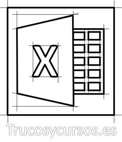 Imagen vectorial del logotipo de Excel 2013
