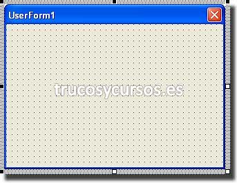 Contraseña de apertura con intentos en Excel: Formulario (UserForm) insertado