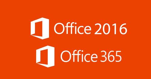 Lanzamiento mundial de Office 2016, iconos de programas
