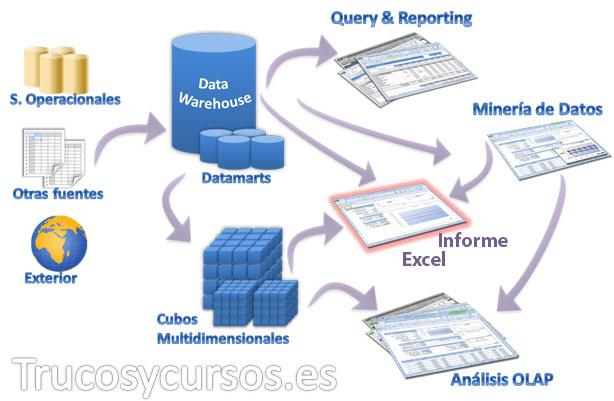 ¿ Qué tipo de informe necesitas para tus datos Excel ? Proceso de obtención de datos