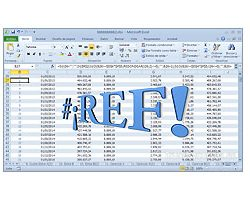 El error #¡REF! en Excel
