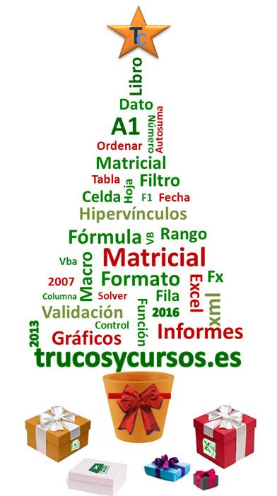 Desde Trucos y Cursos de Excel te deseamos Feliz Navidad