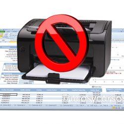 Evitar imprimir las hojas del libro Excel
