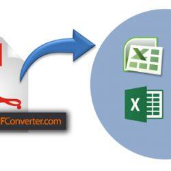 Personalizar y convertir archivos pdf a excel