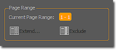 PDF Converter: Panel de PDF a Excel, área de Rango/Pagina