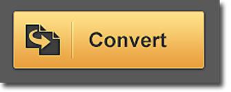 PDF Converter: Panel de PDF a Excel, botón convertir