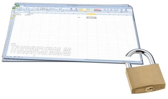 Proteger una celda frente a escritura en Excel