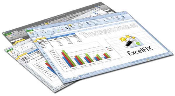 Archivo Excel dañado y recuperado con ExcelFIX