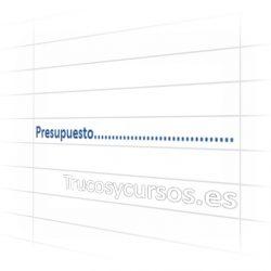 Rellenar el valor de una celda Excel con carácteres