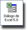 Icono Diálogo de Excel 5.0