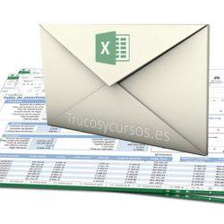 Enviar un archivo Excel rápidamente por correo electrónico