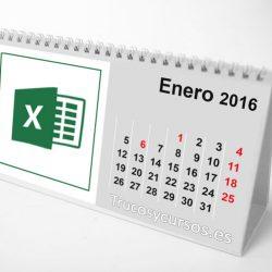Semestre, Cuatrimestre, Trimestre, Bimestre y Mes en Excel