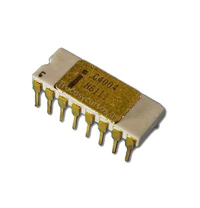 Historia de los micropresadores - Excel y el micro: Intel 4004