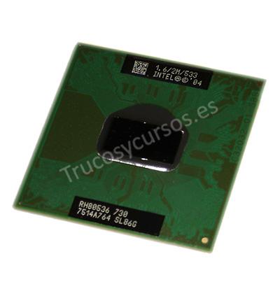 Microprocesador: Pentium M