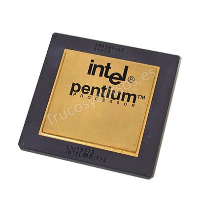 Microprocesador: Pentium