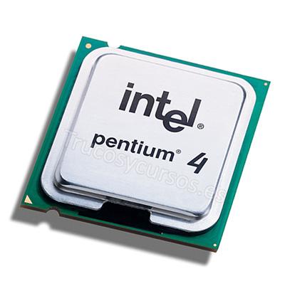Microprocesador: Intel Pentium 4