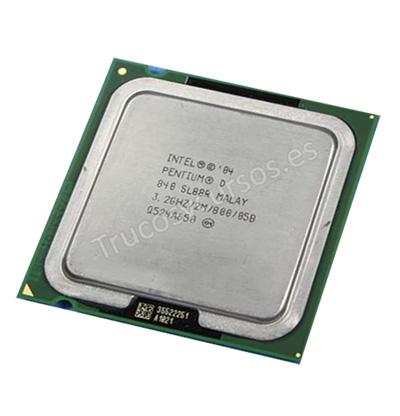 Microprocesador: Pentium D