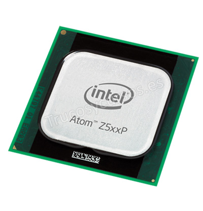 Microprocesador: Intel Atom