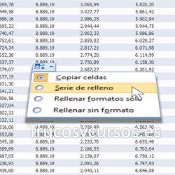 Los botones de opciones de Excel