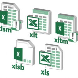 Mostrar las extensiones de Excel en Windows