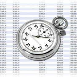 Tiempo en centésimas de segundo en Excel